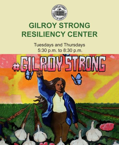 Gilroy Strong Resiliency Center Logo